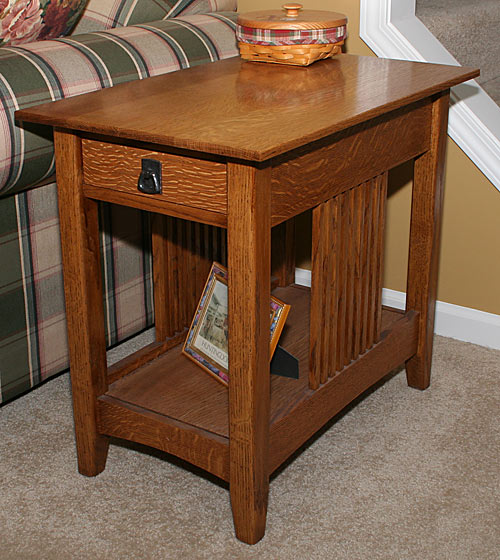 Download Mission End Table Plans PDF Plans