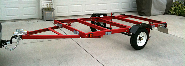 High Quality Harbor Freight Utility Trailer (2010)
