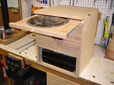 saw blade storage