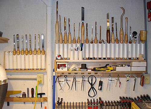 lathe tool rack